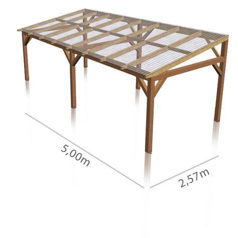 Panneau de toiture ondul translucide en polycarbonate recherche google t - Construire un gazebo ...