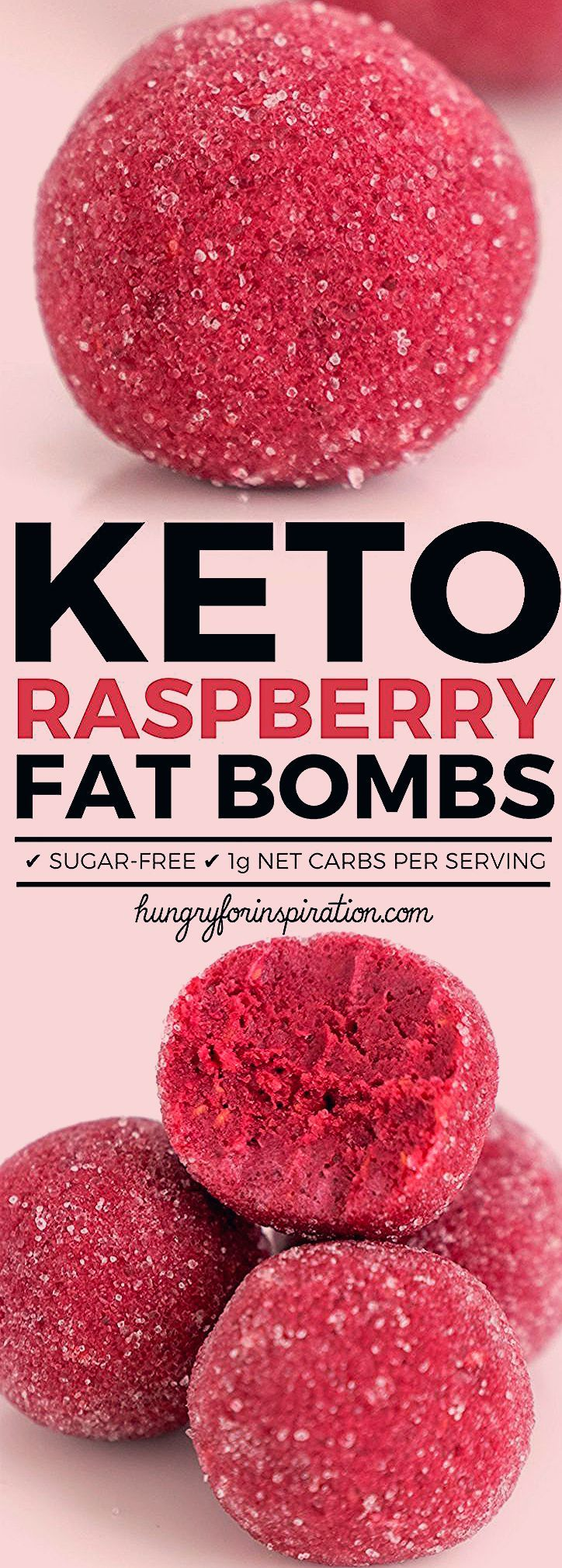 Photo of Healthy Keto Raspberry Fat Bombs | Hungry For Inspiration