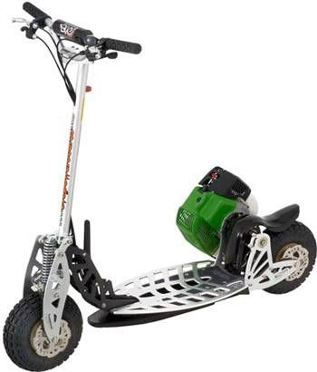 How To Make A Motorized Scooter With Images Gas Scooter Motor