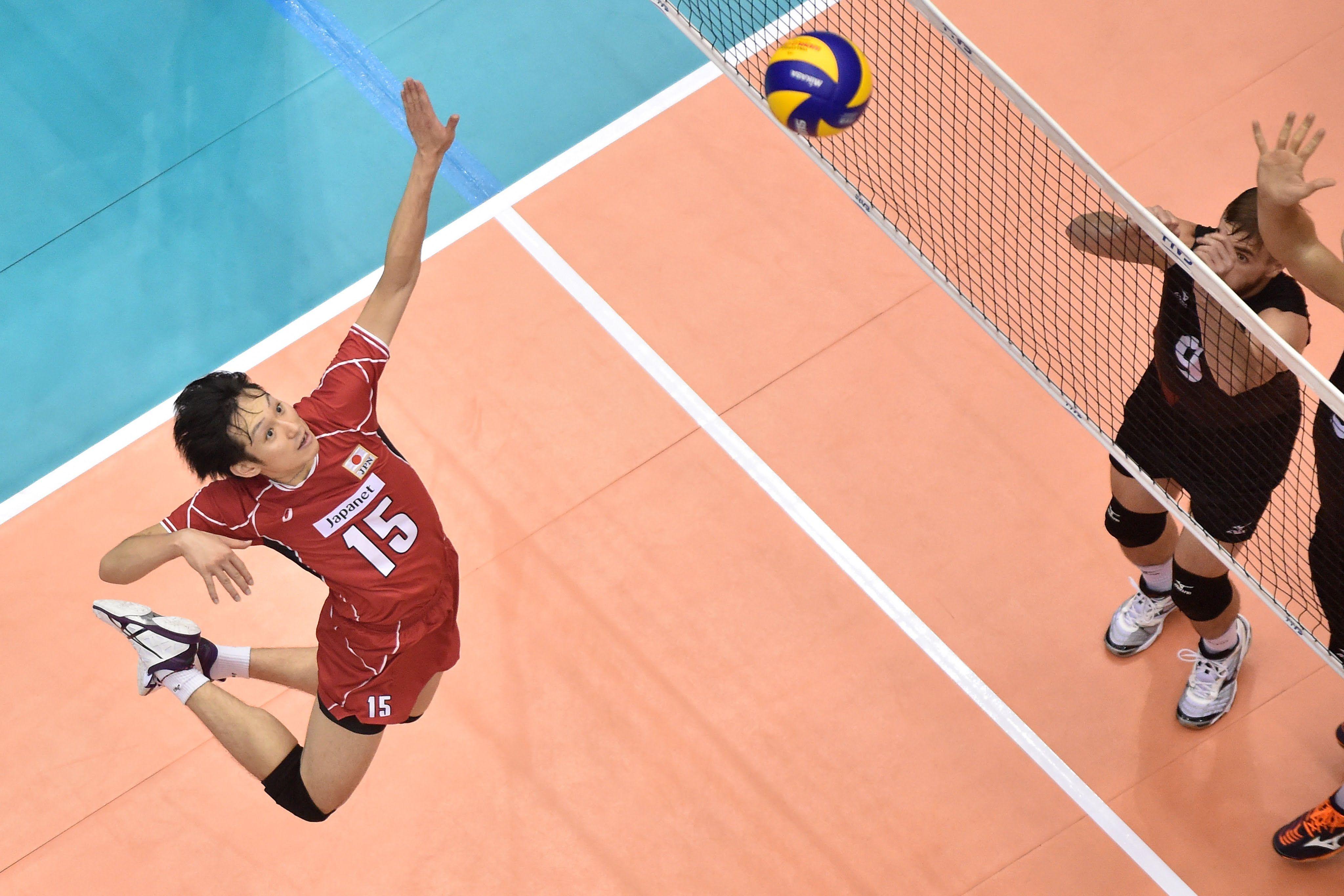 Masahiro Yanagida Highlights Part 2 Fivb 2015 World Cup Japan Vs Canada Volleyball Poses Volleyball Photos Mens Volleyball
