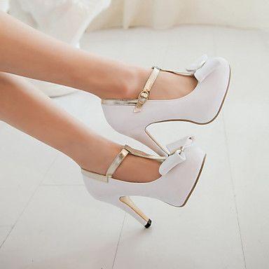 selección premium ee18c fec4f Zapatos de mujer - Tacón Stiletto - Tacones / Punta Redonda ...