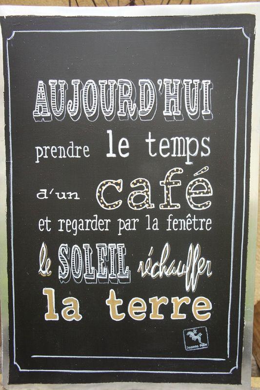 Aujourd hui prendre le temps d un caf et regarder par la for Regarder par la fenetre