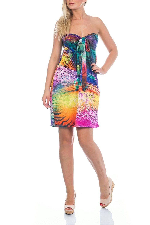 Martildo Fashion Ladies Tropical Bandeau Tube Knee Length Summer Dress Read More At The Image Link Summer Dresses Knee Length Fashion Best Casual Dresses [ 1500 x 1000 Pixel ]