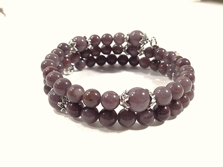 Rosary Bracelet  Purple Aventurine 8Way Holy by BellaDonnasShoppe, $45.00