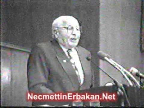 NO:144B  Prof. Dr. NECMETTİN ERBAKAN, TBMM Terör ve Şırnak olayları Konu...