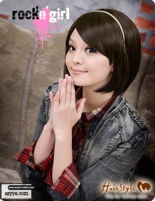 تسريحات شعر كورية سهلة و بسيطة Simple And Easy Korean Hairstyles Crown Jewelry Hair Styles Style