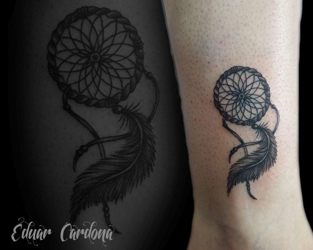atrapasueños tattoo dreamcatcher