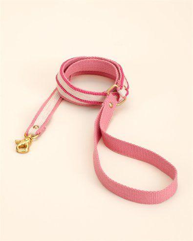 Pink Rhinestone Trim Dog Leash  for that special princess!