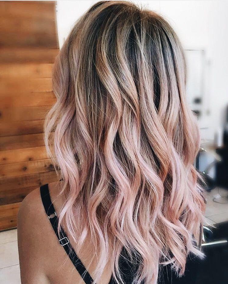 Pin By Guada Vera On Hair Light Pink Hair Hair Dye Tips Hair Color Pink