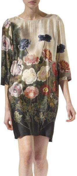 cea37a2d STELLA MCCARTNEY I have this & LOVE it! Anemone-print Silk Dress ...