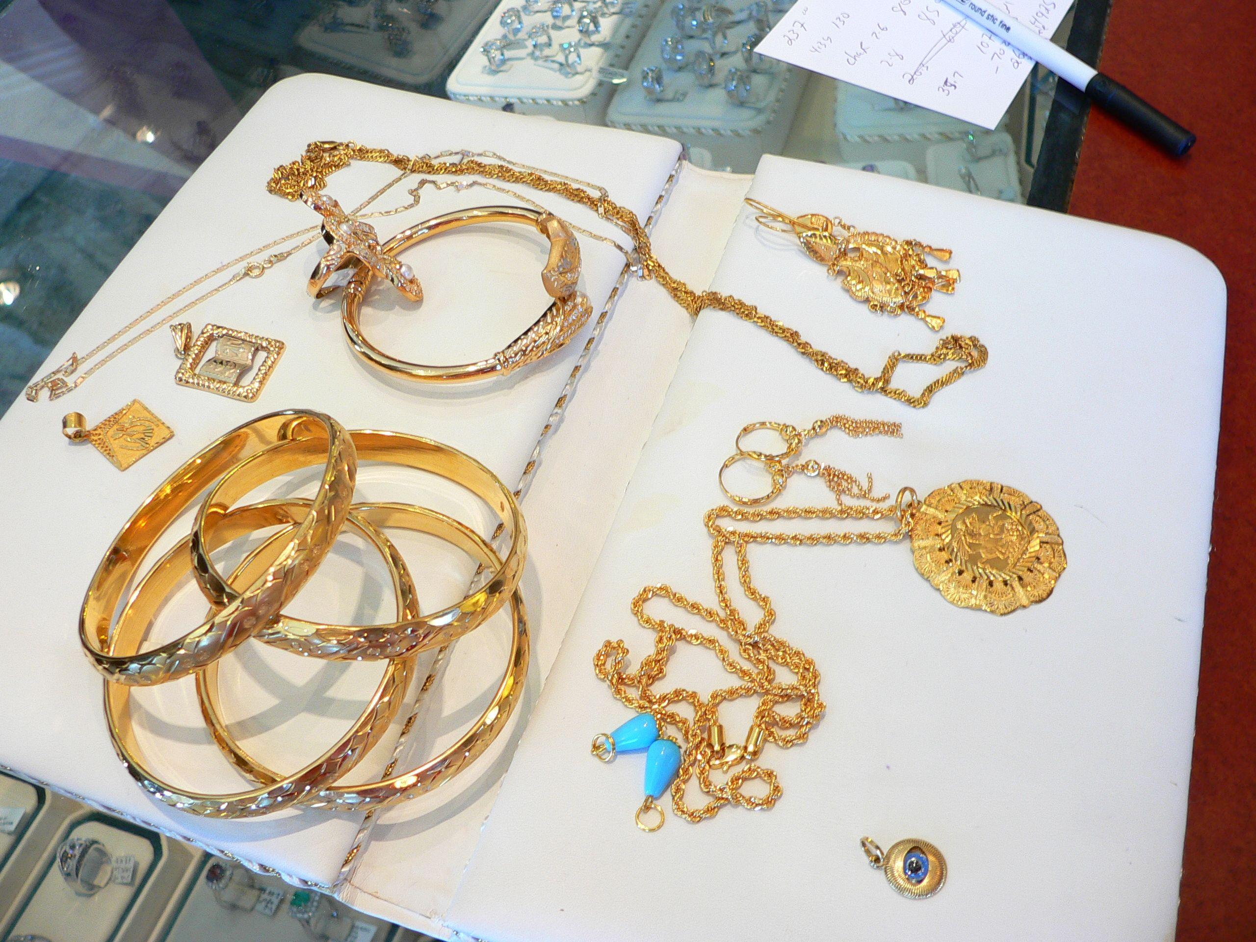 21 karat gold necklace sets njdiamondsjewelrycom Gold baby