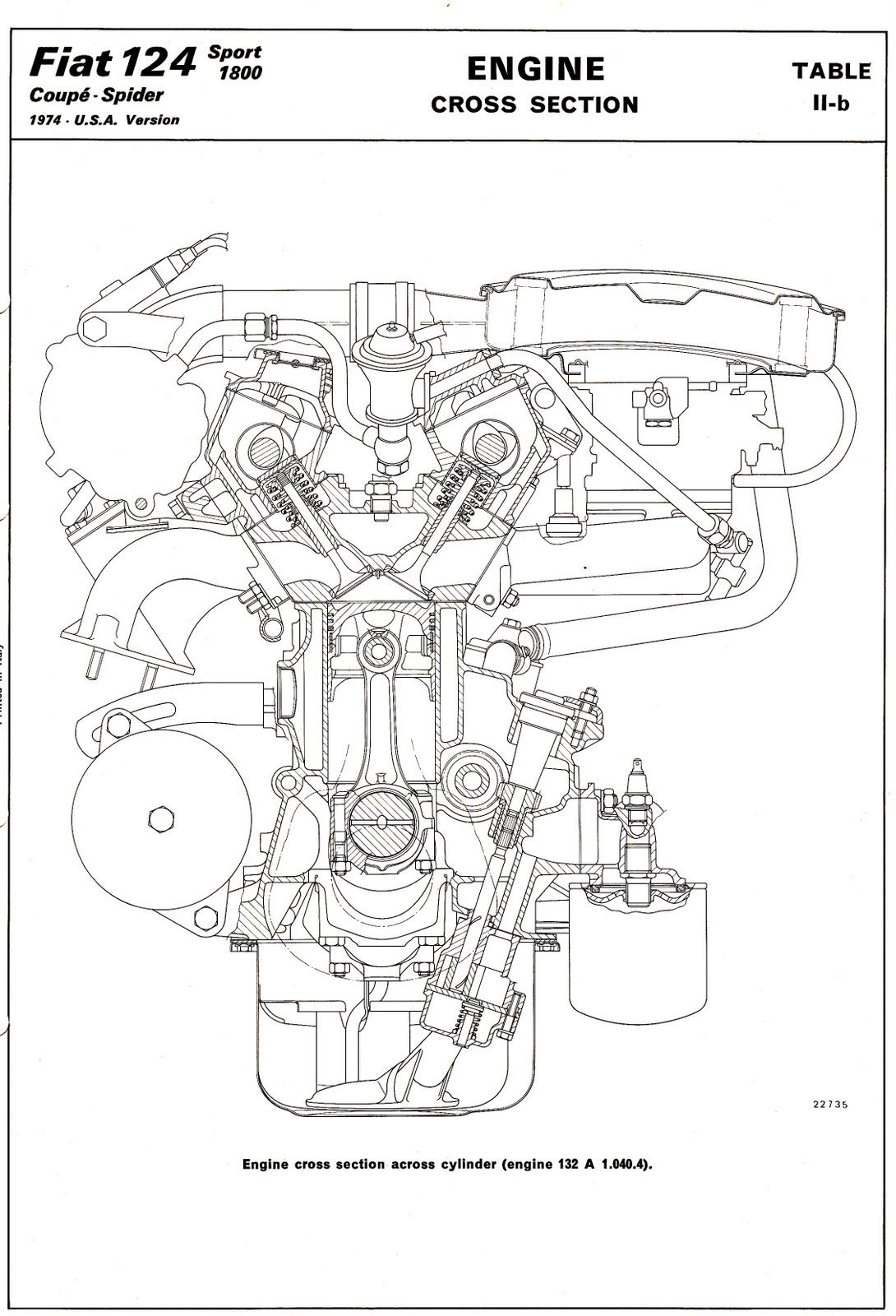 hight resolution of fiat classic twin cam engine car engine car parts fiat engineering twins