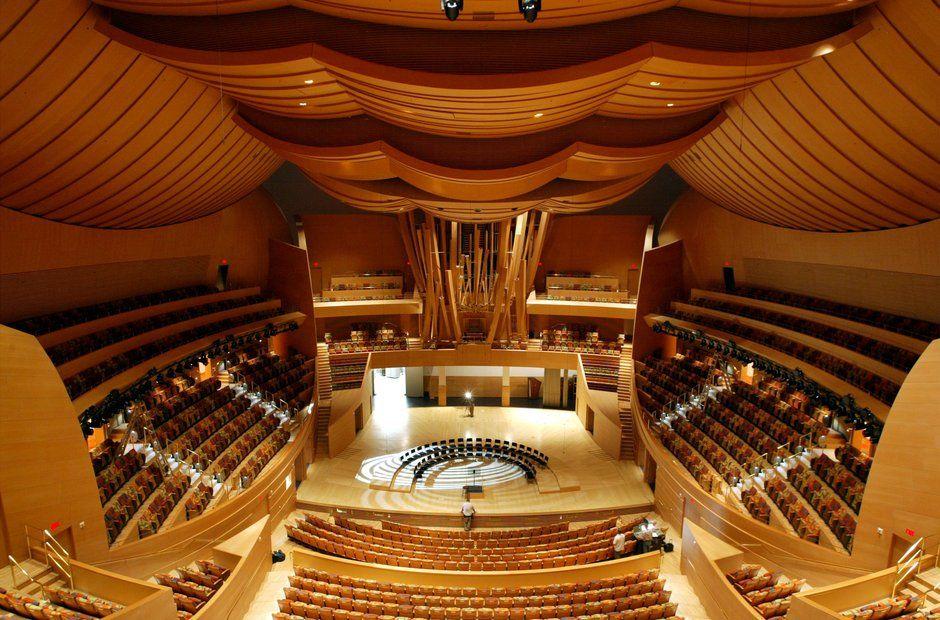 Walt Disney Concert Hall Los Angeles Walt Disney Concert Hall Concert Hall Concert Venue