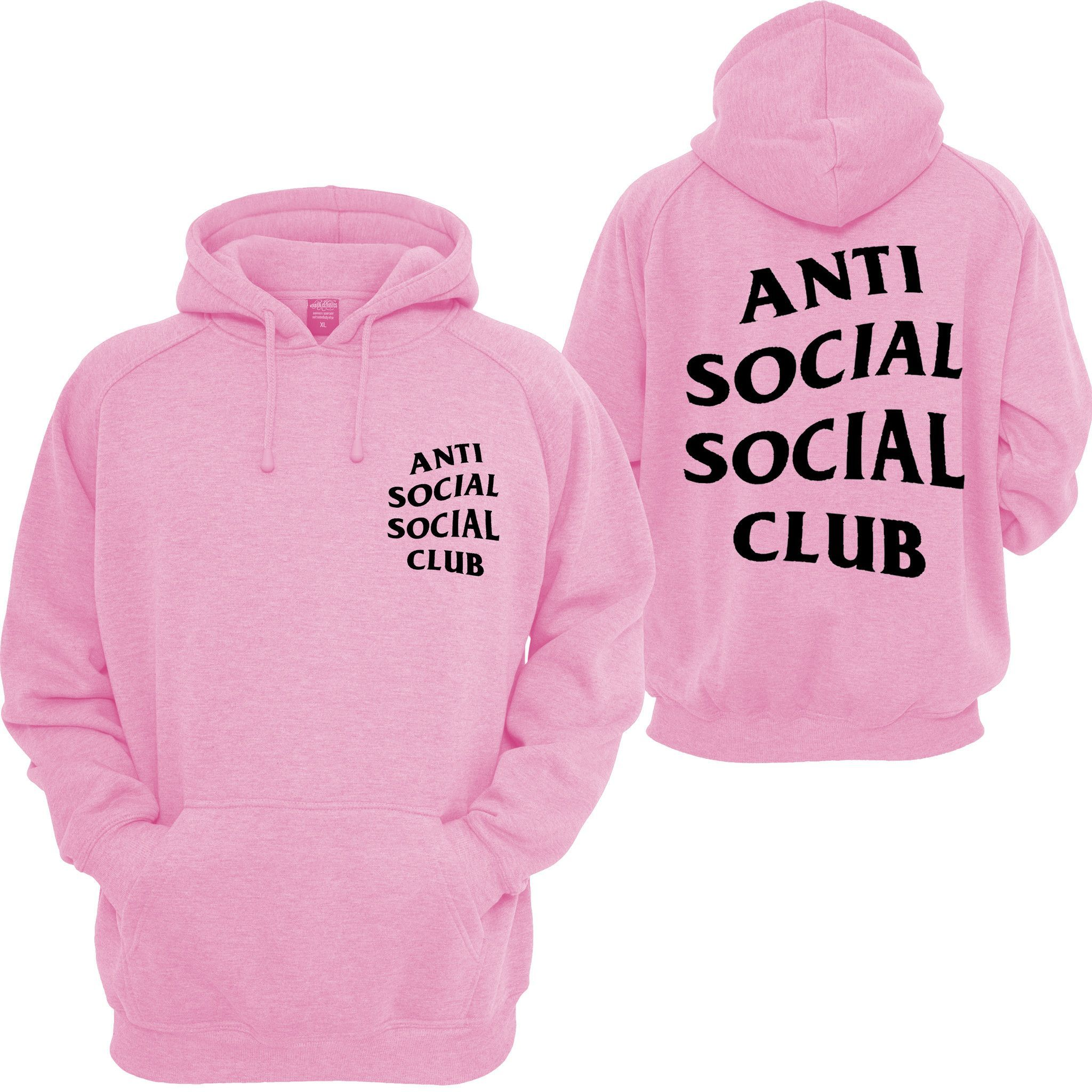 471530665 Anti Social Social Club Mind Games Hooded Sweatshirt
