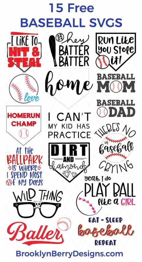 Photo of DIRT AND DIAMONDS – FREE BASEBALL SVG FILE