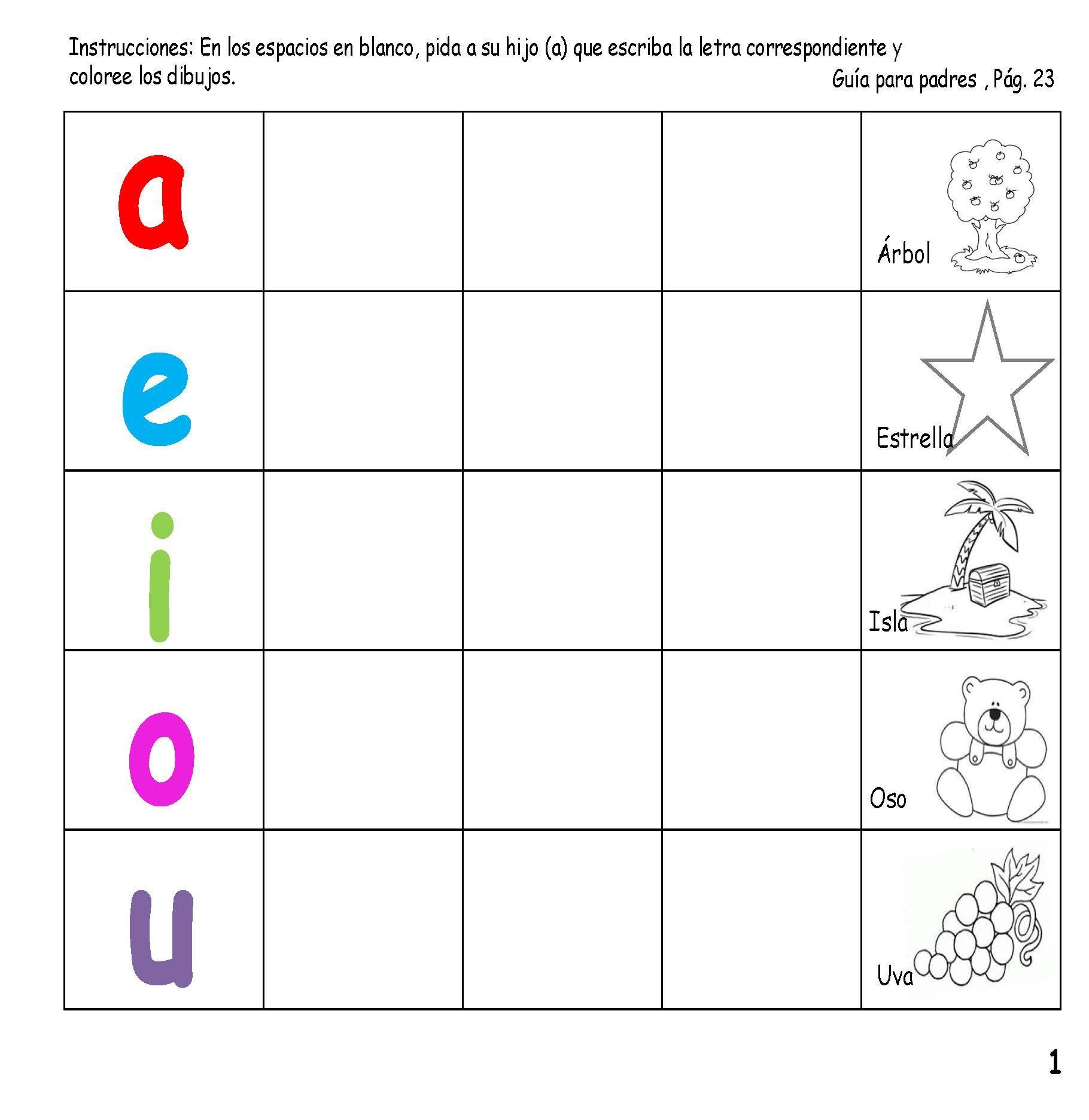 El documento incluye una serie de ejercicios sencillos para niños de ...