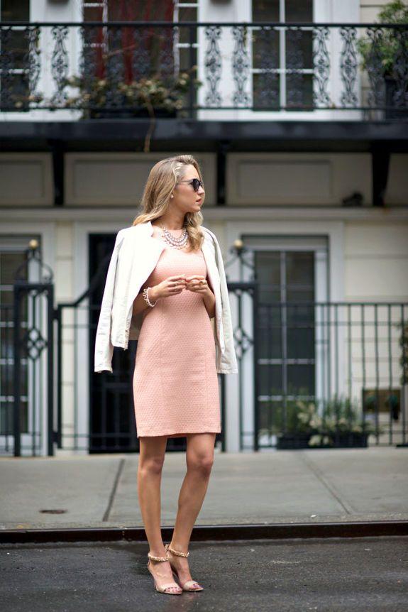 марионетки, с чем носить розовое платье футляр фото фотографы