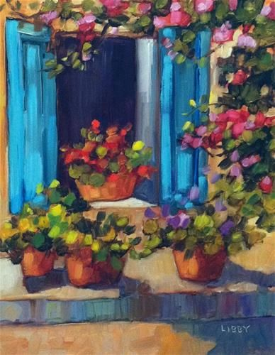 """Daily Paintworks - """"Open Window"""" by Libby Anderson"""