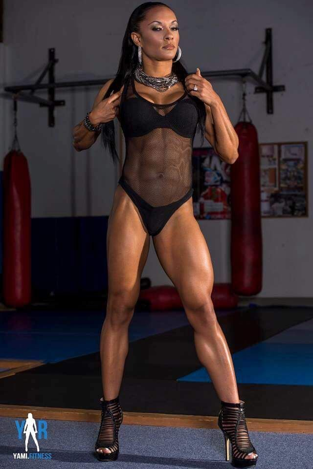 goddess Black muscular
