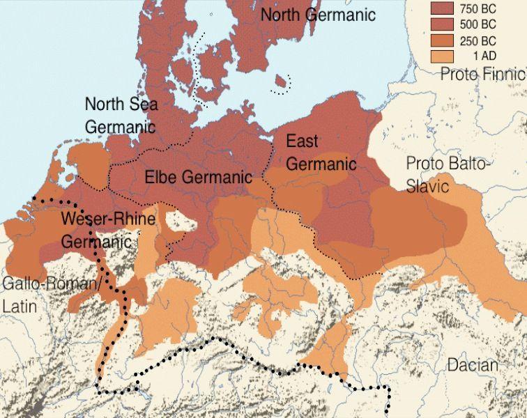 Germanen Wikipedia Germanen Landkarte Und Kartographie