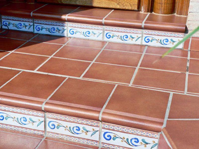 Pelda o fiorentino gresmanc cer mica para exteriores y for Azulejos patio