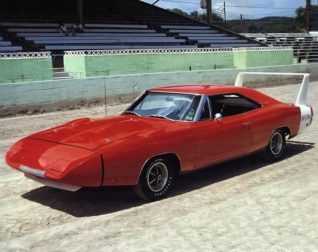 1969 dodge charger daytona in we drove over in one that sob could hug the road