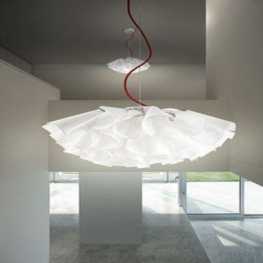 Japanese paper pendant lamp tutu by matteo olivieri panzeri srl design hiroki