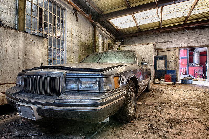 Urbex Garage Le Rallye