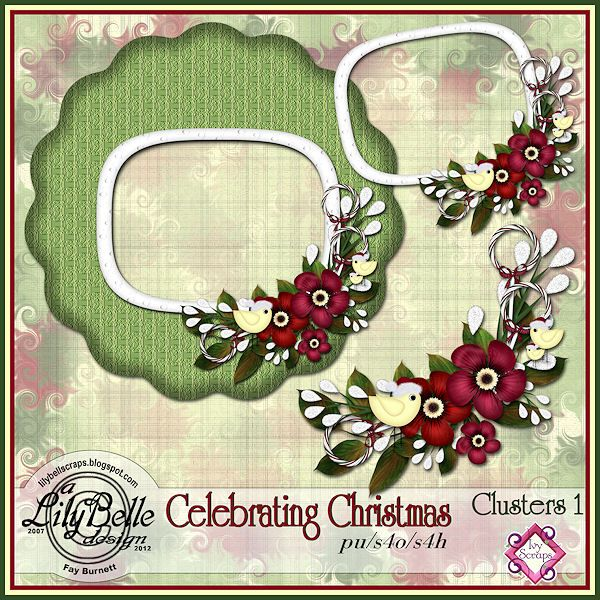 CELEBRATING CHRISTMAS - CLUSTERS 1