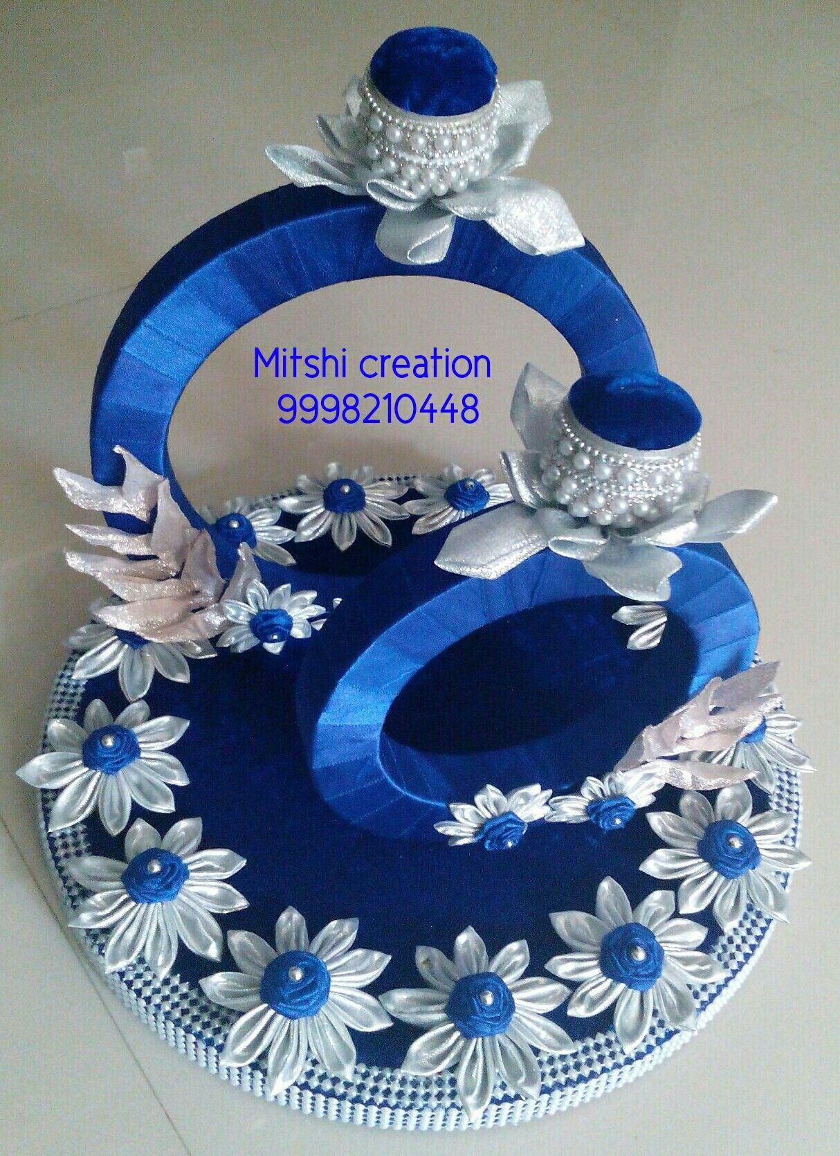 decorative ring tray Engagement ring platter, Wedding