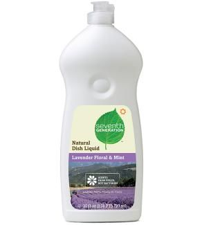 This is what I use when I wash dishes. I have sensitive skin and I've never had a problem with seventh generation. I think its because they use essential oils to make the soap smell good  (and to disinfect) and not something made in a lab.