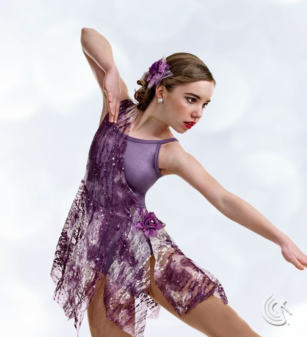 Superb Curtain Call Costumes®   Wild Whimsy Captivating Contemporary Dance Costume,available  In Three Colors