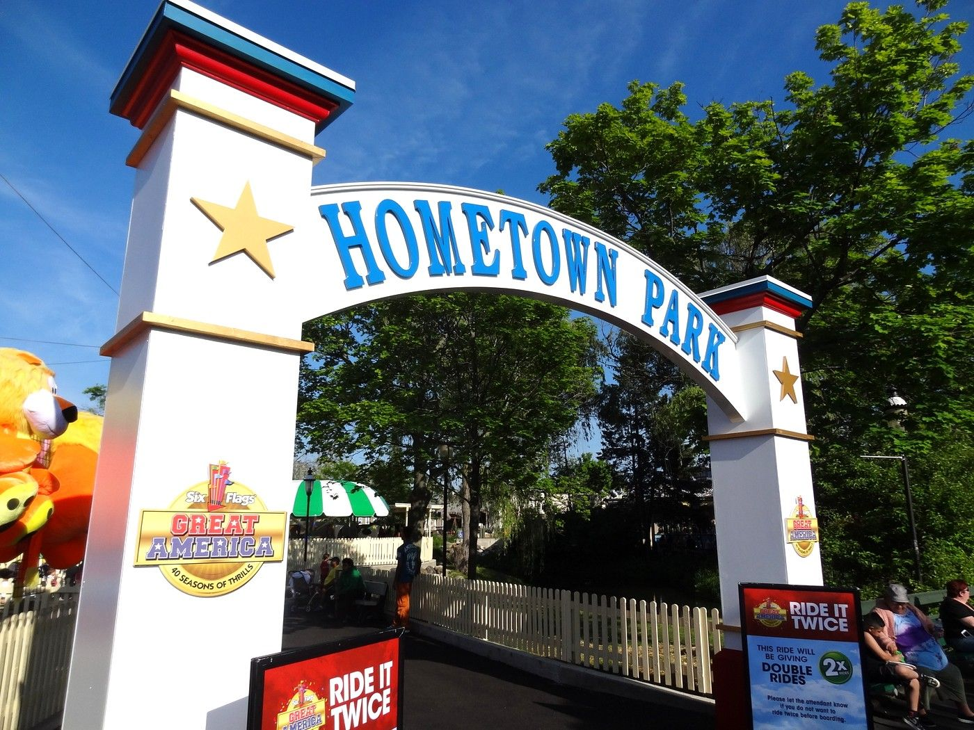 Six Flags Great America 2015 Update Coaster101 Great America America Six Flags