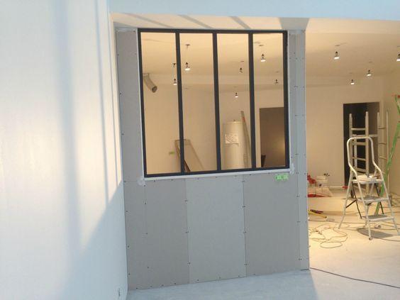 construction d 39 une verri re s parative a moindre cout ma verriere bois bricolage pinterest. Black Bedroom Furniture Sets. Home Design Ideas