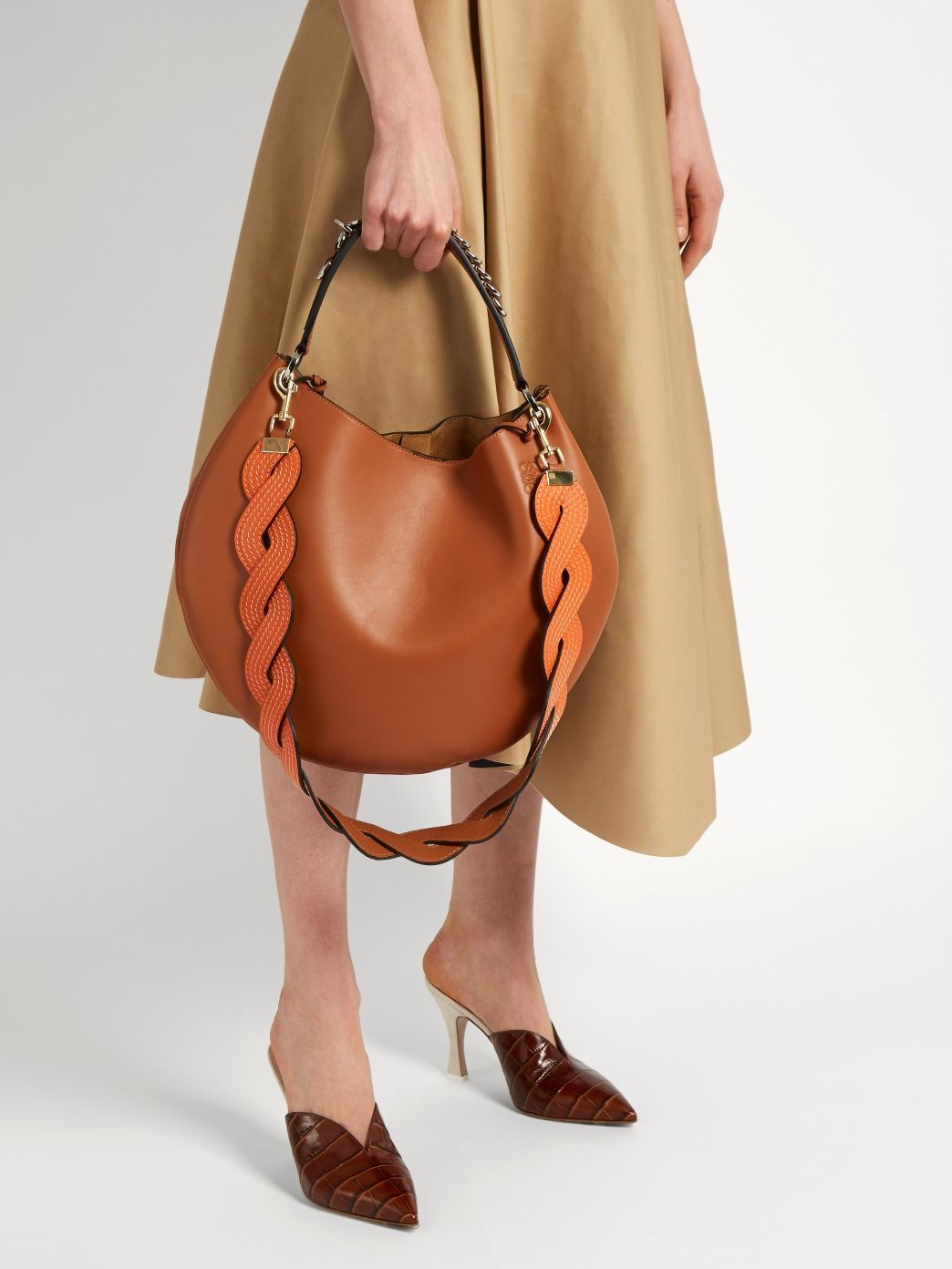 c38c916f46 Click here to buy Loewe Twisted wave leather bag strap at  MATCHESFASHION.COM https