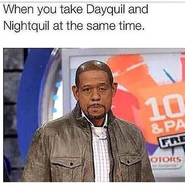 forrest whitaker dayquil nyquil vines amp memes funny