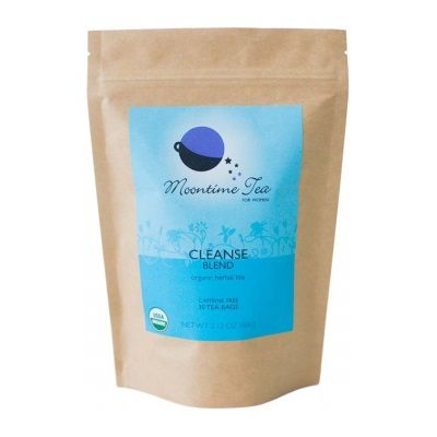 Moontime Tea   » Organic Cleanse Tea with Mint, Dandelion and Burdock root