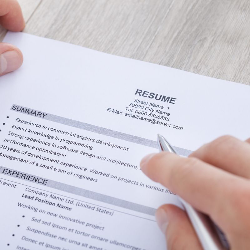 5 Common Job Seeking Mistakes And How To Fix Them Resume