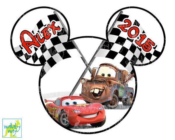disney cars lightning mcqueen mater printable iron on transfer or rh pinterest com lightning mcqueen birthday clipart
