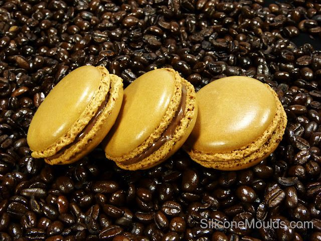 Coffee and Double Chocolate Macarons - Contains a link to YouTube using a special silicon mat especially for macarons. NOTE: I also noticed there are several other YouTube videos for making macarons