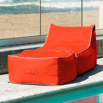 Outstanding Hip Chik Chairs Sunbrella Bean Bag Lounger Set Upholstery Frankydiablos Diy Chair Ideas Frankydiabloscom