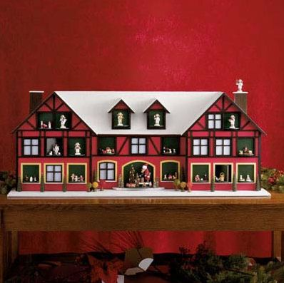 handmade wooden advent calendar from germany by fao schwarz wooden advent calendar advent. Black Bedroom Furniture Sets. Home Design Ideas