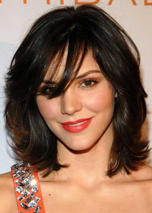 Best Haircuts For Fine Hair With Bangs : 20 haircuts with bangs for round faces hairstyles &