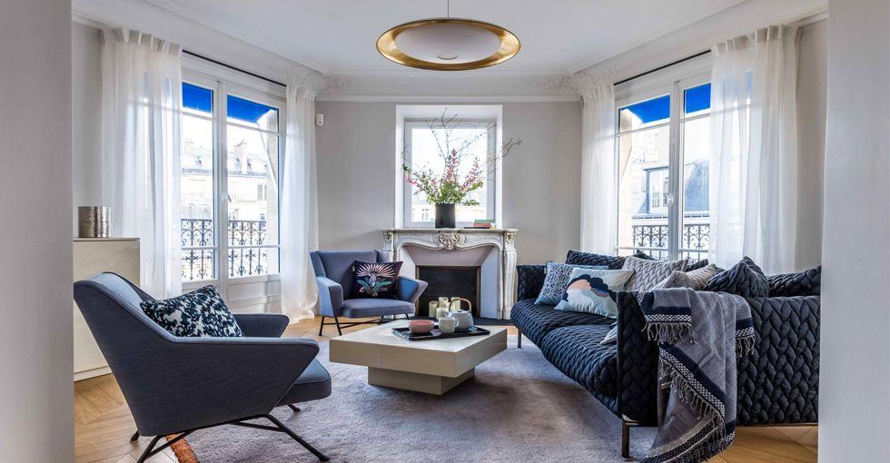 De la conception à la réalisation, lu0027agence Véronique Cotrel vous - faire une chambre dans un salon