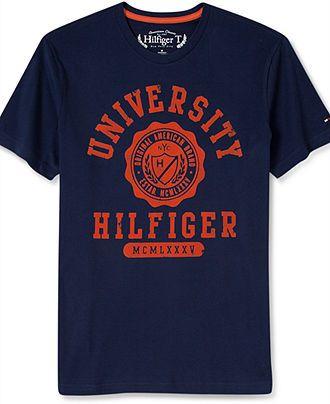 a6a77b50 Tommy Hilfiger T-Shirt, New Griggs Graphic Short Sleeve T-Shirt - T-Shirts  - Men - Macy's