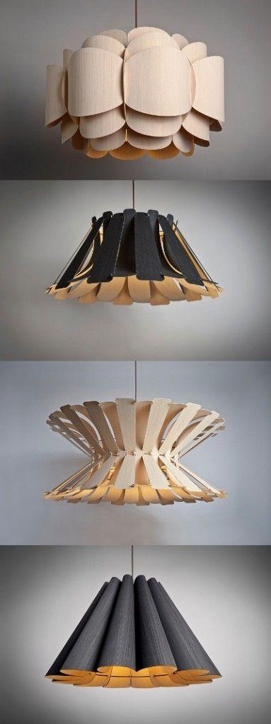 Chapas de madera y otros tipos Diseño de objetos decorativos y