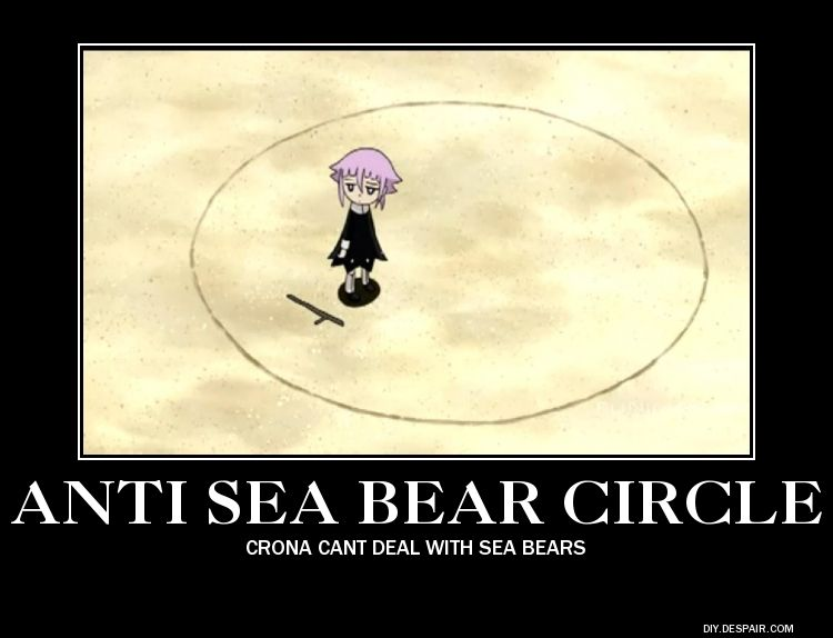 Pop quiz what is the anti sea bear circle from I'll give you a hint it is yellow and should be illegal.