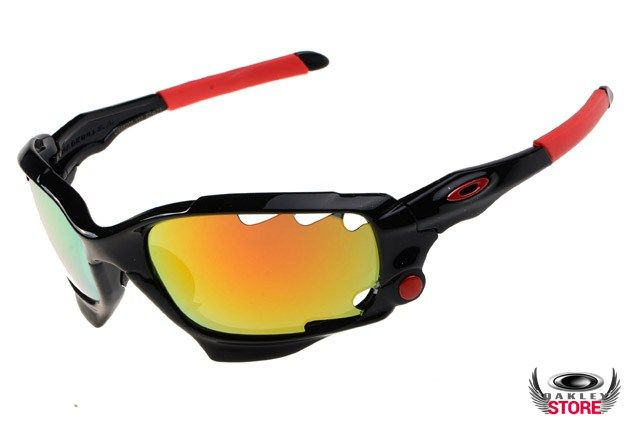 7315c7b5836 discount Oakley Racing Jacket with black frame fire iridium lens ...