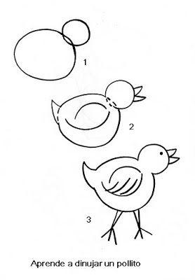 El Rincon De Los Peques Aprende A Dibujar Como Dibujar Animales Faciles Aprender A Dibujar Animales Como Dibujar Animales