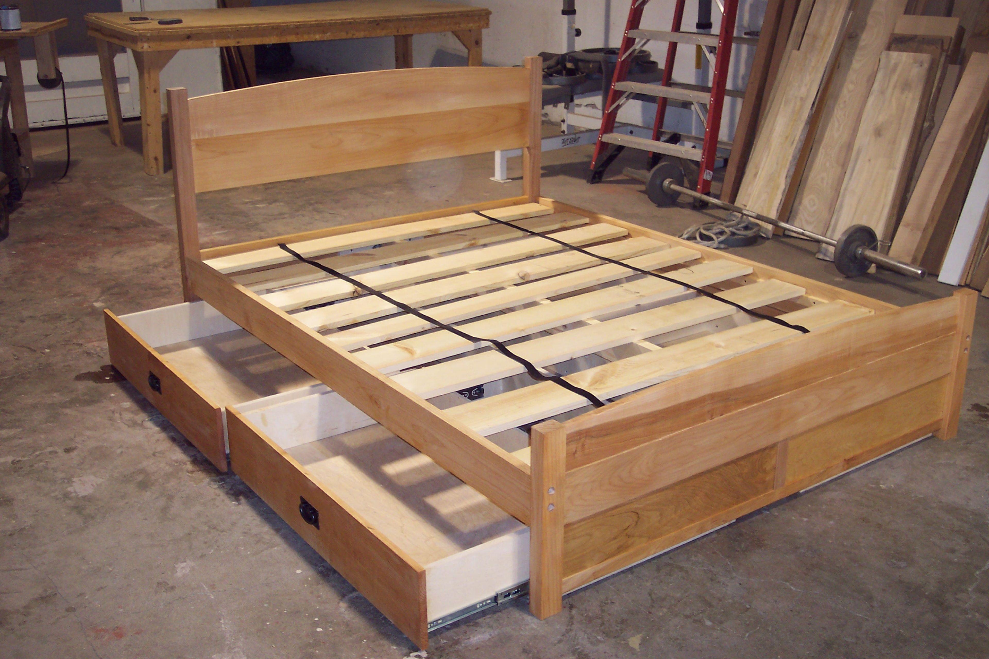 Handcrafted Furniture Portland Orgen Captains Bed Furniture